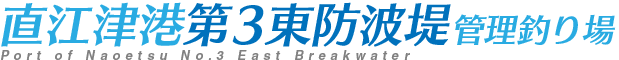 直江津港第3東防波堤 管理釣り場
